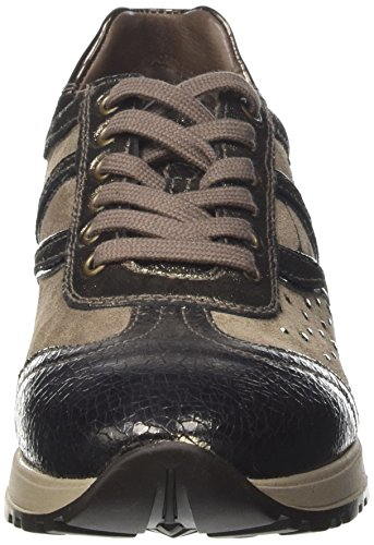 Giardini Donna Nero A719471d Crack Beige Bronce Sneaker 7qwfxwnd