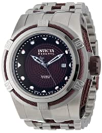 Invicta Men's 12683 Bolt Reserve Automatic Brown Textured Dial Stainless Steel Watch