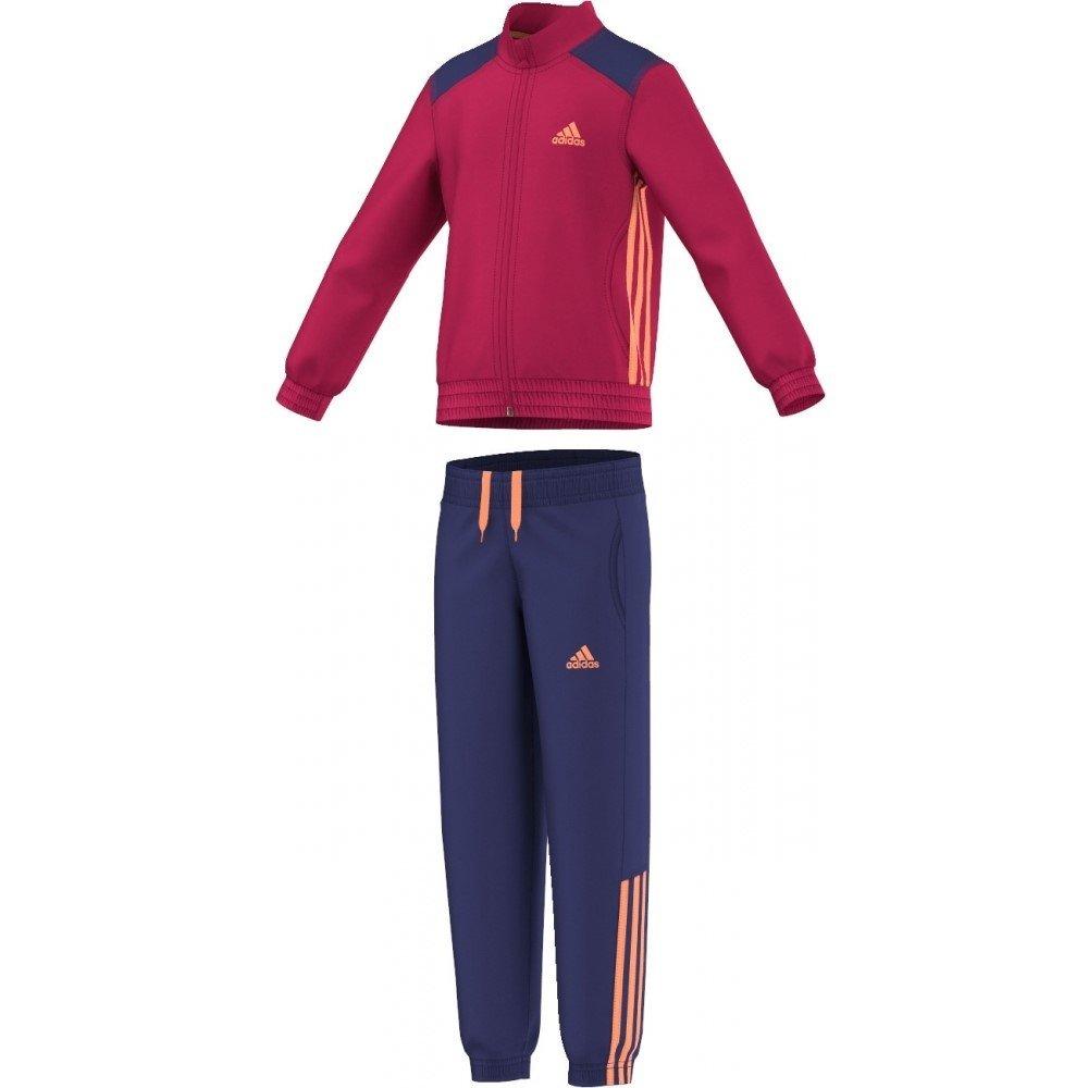 New adidas Girls LG ESS PES Tracksuit Age 4-5 Years: Amazon.es ...