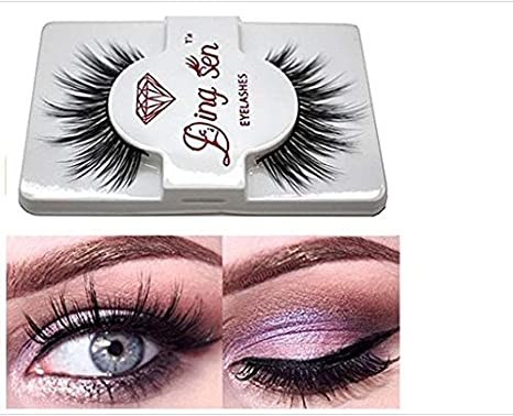 VWH 3D Fake Eyelashes Natural Thick False Eye Lashes Makeup Extension (N)(10 Pairs) B_Mayshow