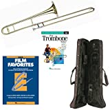 Play Trombone Today Deluxe Pack - Includes Bb Tenor Trombone, Self-Teaching Method DVD & Essential Elements Film Favorites