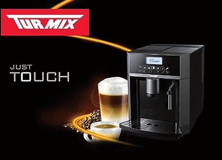 Turmix A11166 Independiente Máquina espresso 2L Titanio - Cafetera (Independiente, Máquina espresso, 2 L, Molinillo integrado, 1350 W, Titanio): Amazon.es: Hogar
