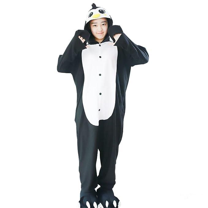 Yimidear® Unisex Cálido Pijama Animales Traje de Animal Cosplay Ropa de Dormir Onesie Halloween y Navidad