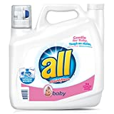 all Baby Liquid Laundry Detergent, 46.5 Fluid Ounces, 31 Loads