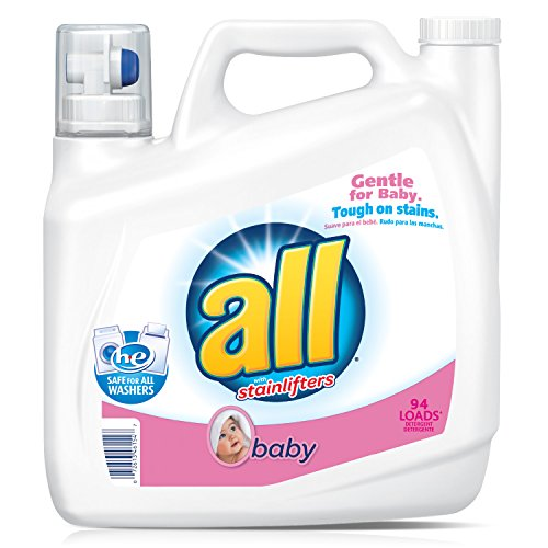 all Liquid Laundry Detergent, Baby, 141 Ounces, 94 (Baby Detergent Laundry)