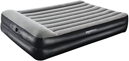 AmazonBasics Pillow Rest Single Size Premium Airbed with Built in ...