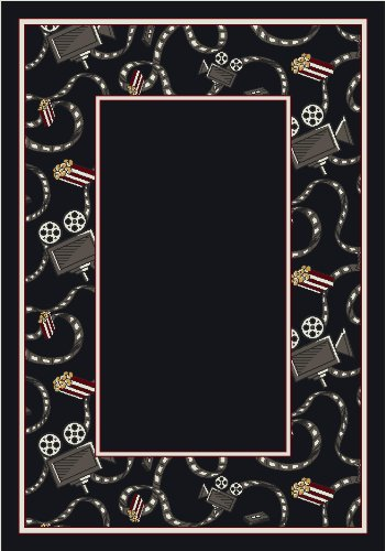 Activity Intermission Border Movie Novelty Rug Rug Size: 7'8'' x 10'9'' by Milliken