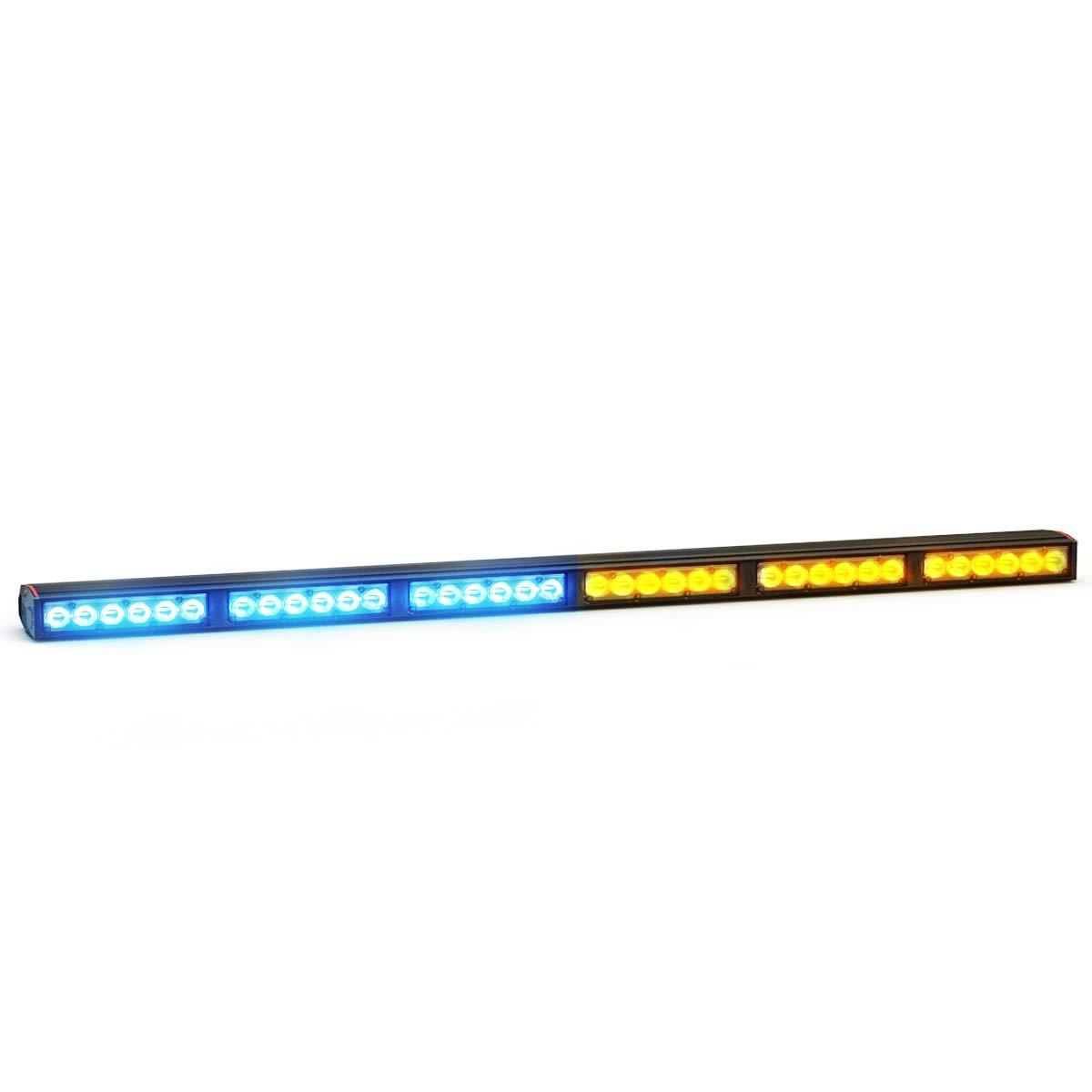 Feniex Fusion 600 Single Color LED Lightstick 40/° Optics, Blue