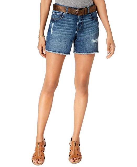 Amazon.com: Style & Co - Pantalones vaqueros con cinturón ...