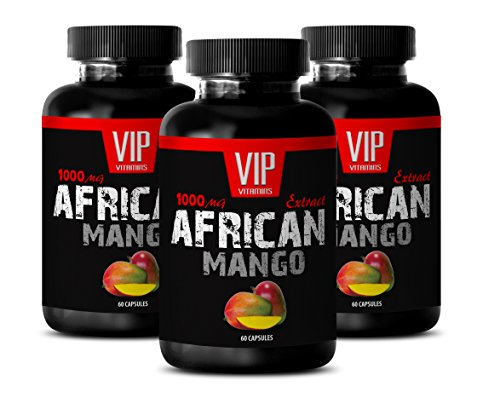Libido booster for men sex – AFRICAN MANGO EXTRACT 1000MG – Mango supplement – 3 Bottle (180 Capsules)