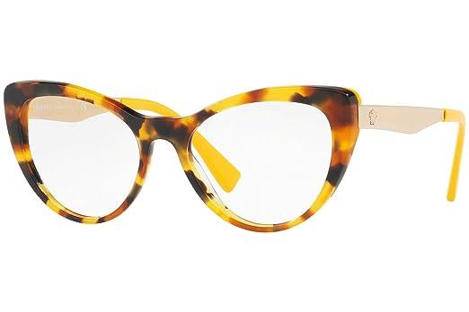 Amazon.com: Versace ve3244 Eyeglasses 51 – 17 – 140 Havana W ...