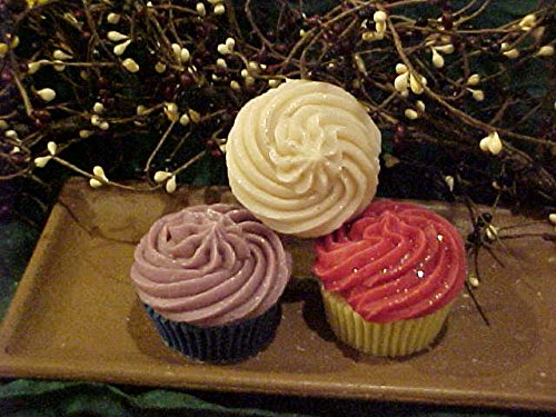 Cupcake with Swirl 1 Cavity Silicone Mold 1156 Food-Soap-Candle-Resin-Flexible]()