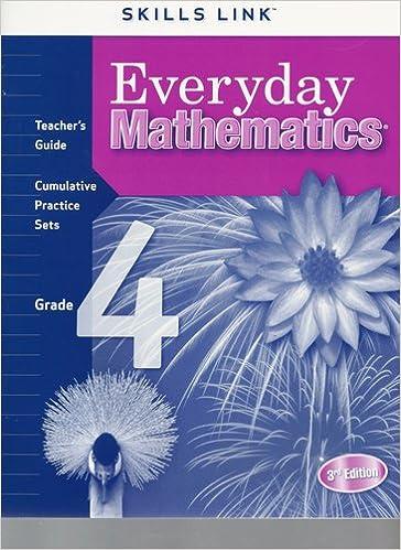 Everyday Mathematics Skills Link Teacher's Guide Cumulative ...