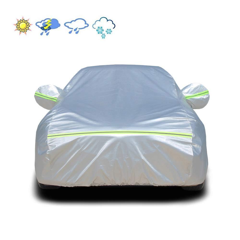 Jaxonn Home Sedan Funda Completa para Auto – Protección Impermeable Lluvia Polvo Sol UV Resistente a los arañazos – Protección para Todo Tipo de Clima Coche Interior y Exterior, Subaru, Tribeca