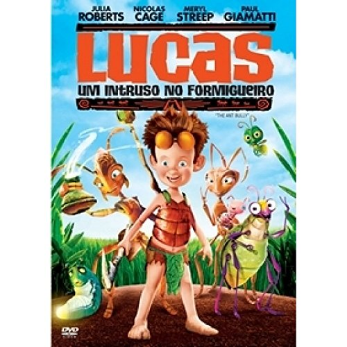 DVD Lucas Um Estranho no Formigueiro [ The Ant Bully ] [ Audio and Subtitles in English + Brazilian Portuguese ] [ Import / Region 4 ]