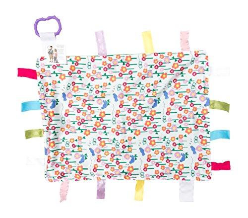Baby Butterfly Shelf - Lovey Sensory Tag Toy Garden Flowers Butterflies The Learning Lovey Blanket