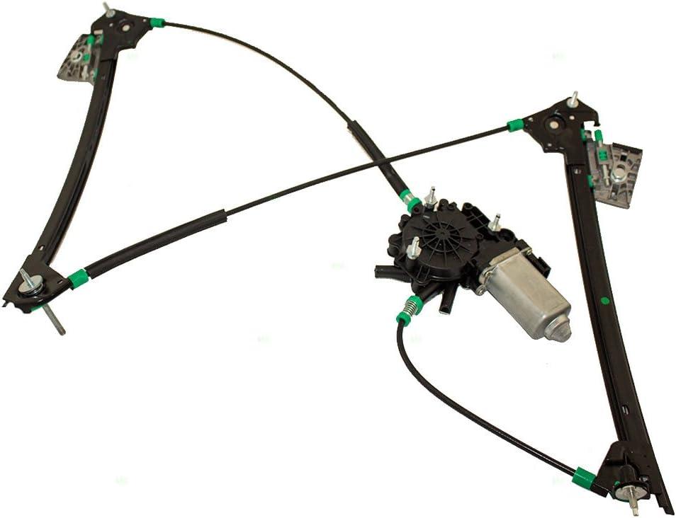 Power Window Regulator W// Motor for 97-04 Chevrolet Corvette Front Left 748-472