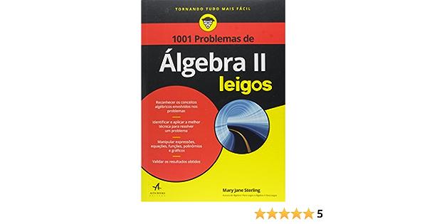 1001 Problemas De Algebra Ii Para Leigos Amazon Com Br