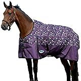 "Weatherbeeta Comfitec Essential Standard Neck Blanket Medium Purple Panda Print 75"""