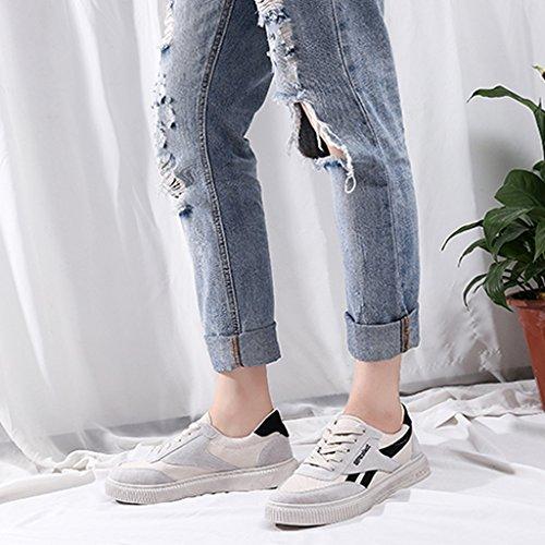 Espadrillas scarpe Scarpe 39 stile Scarpe Black da maschile Green moda Harajuku selvatico coreano uomo da basse uomo Color basse estate YaNanHome da Size aiuto di scarpe uomo selvaggio tela dpqx1Xwd