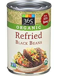 365 Everyday Value, Organic Refried Black Beans, 16 oz