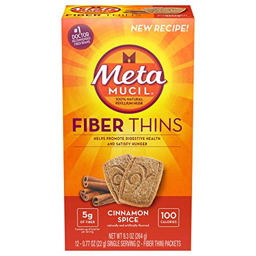 Metamucil Fiber Thins Cinnamon Spice – 12ct