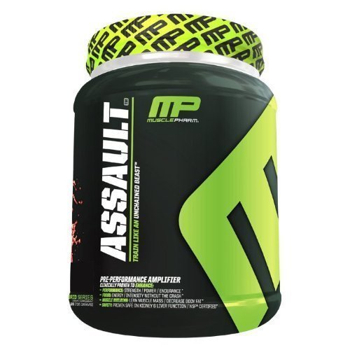 MusclePharm Assault - 32 Portions - Watermelon - Exclusive