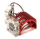 traxxas motor fan - Integy RC Model Hop-ups C23251RED Twin Cooling Fan + Heatsink for 540/550 Size Motor w/ 36mm O.D.