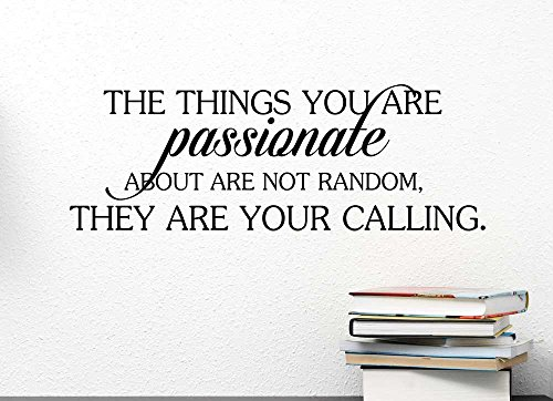 passionate calling inspirational Sticker Stencil product image