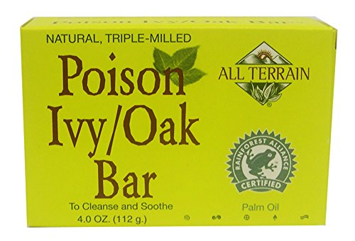 All Terrain Natural Poison Ivy Relief, Helps Dry Rashes & Reduce Itching & Irritation from Poison Ivy, Poison Sumac, Poison (Ivy Natural)