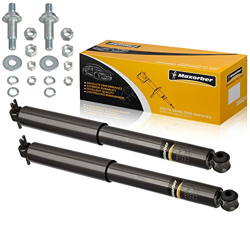 Maxorber Rear Pair Shocks Struts Absorber Compatible with 1964 1965 1966 1967 Buick Skylark Special Chevy Chevelle Malibu Oldsmobile Cutlass F85 Pontiac GTO Lemans Tempest 343130, 71798 ()
