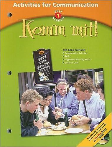 =ZIP= Komm Mit!: Activities For Communication Level 1. provides traves Kwakkel creacion Archive