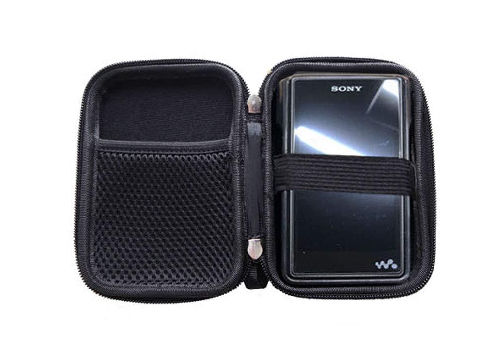 Sony NW WM1A WM1Z ZX300 M5S X5III用丈夫な丈夫なキャリーボックス収納ケース WM1AEVACASE  ブラック B07ML7B3GQ