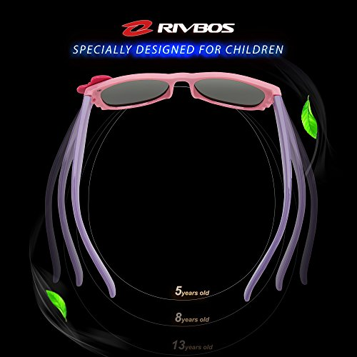 46fc46f1d04 RIVBOS RBK002 Rubber Flexible Kids Polarized Sunglasses for Baby and Children  Age 3-10 (Mirrored Lens Available) – Your Sun Glass Store