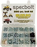 250pc Specbolt Suzuki LT-R450 LTZ400 Z250 ATV Bolt Kit for Maintenance & Restoration OEM Spec Fasteners LT450R LTR450 Z400 ATV LTZ250