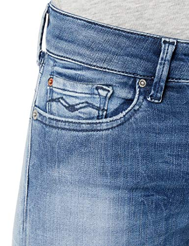 Femme Hyperflex Blue Skinny Bleu light Replay 10 Jeans Luz Denim SF5x7OIq