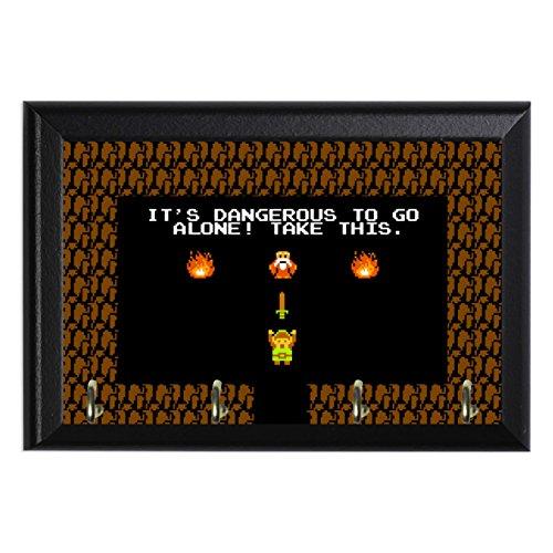 Retro Legend of Zelda Decorative Wall Plaque Key Leash Coat Jewlery Hook Holder Hanger 8