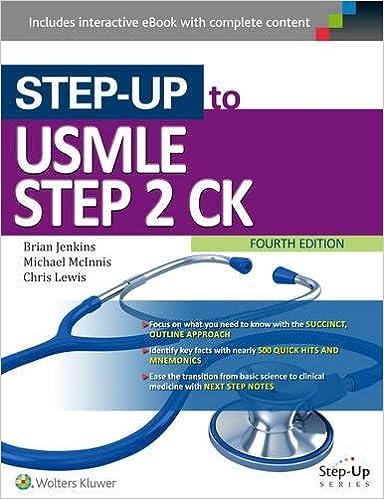 Step up to usmle step 2 ck 9781496309747 medicine health step up to usmle step 2 ck fourth edition fandeluxe Images