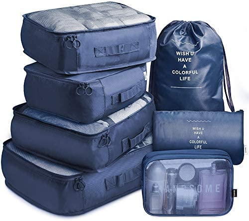 Packing Lightweight Luggage Organizers Toiletry