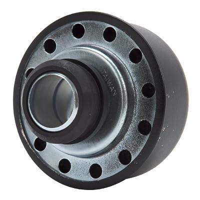 Edelbrock EDL4403 Pro-Flo Black Round Breather: Automotive