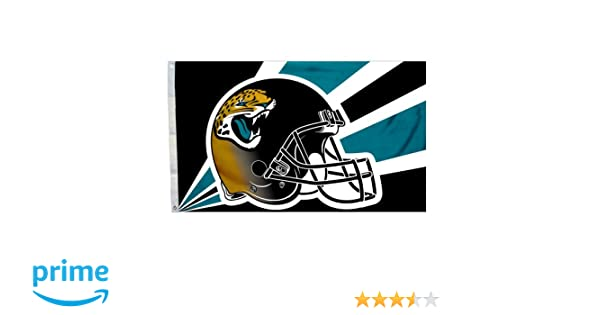 e25be803 Fremont Die NFL Jacksonville Jaguars 3-by-5 Foot Helmet Flag