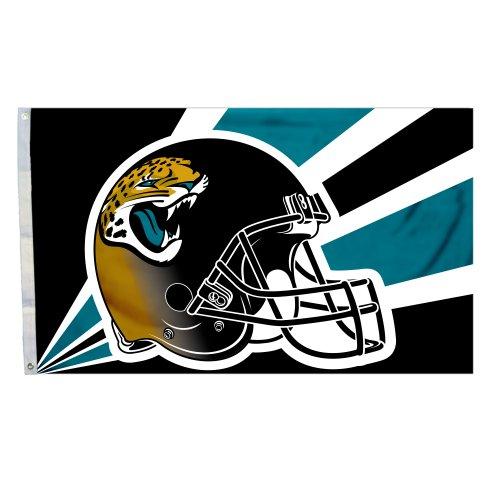 Fremont Die NFL Jacksonville Jaguars 3-by-5 Foot Helmet Flag