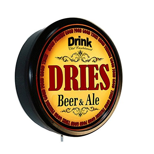 - DRIES Beer and Ale Cerveza Lighted Wall Sign