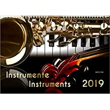 Music Calendar - Instruments 2019,DIN-A3 (size: 420 x 297 mm - 16.5 inches x 11.7 inches)