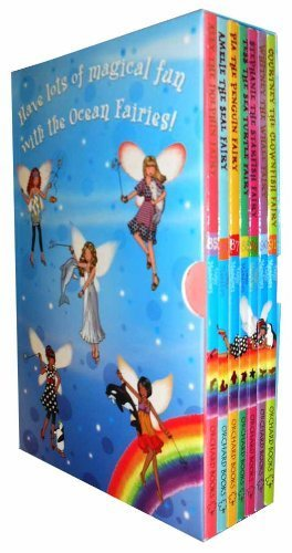 Fairies Collection Dancing - Rainbow Magic Ocean Fairies Collection 7 Books Box Set Pack (Ally Dolphin Fairies, Amelie Seal Fairies, Pia the Penguin Fairies, Tess the sea Turtle Fairies, Stephanie the Starfish Fairies, Whitney the whale Fairies, Courtney the Clownfish Fairies) (Rainbow Magic Ocean Fairies)