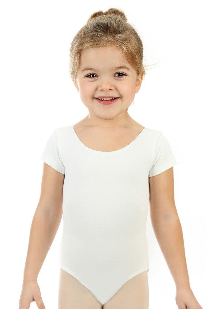 Manica Corta elowel Leotard Body Bambini Costumi di Danza e Ginnastica Vari Colori Disponibili Ragazza Taglie Disponibili 2-4 Anni 4-6 Anni 6-8 Anni 8-10 Anni 12-14 Anni Senza Gonna