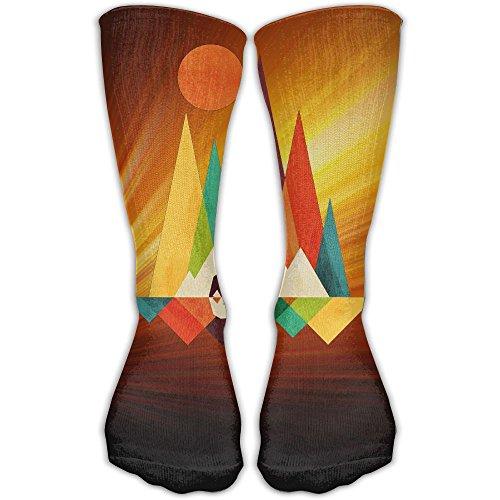 Mountain Bear Graphic Best High Performance Athletic Running Casual Socks For Men & Women