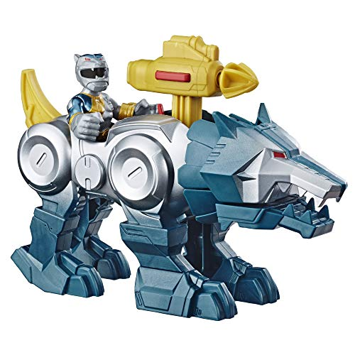Playskool Heroes Power Rangers Silver Ranger & Wolf for sale  Delivered anywhere in USA