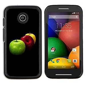 """For Motorola Motorola Moto E / XT1021 / XT1022 , S-type Naturaleza Hermosa Forrest Verde 84"""" - Arte & diseño plástico duro Fundas Cover Cubre Hard Case Cover"""