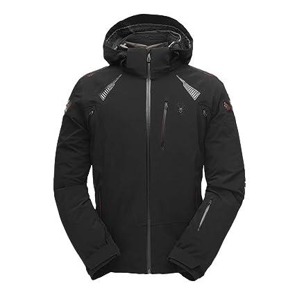 c09d6d32c8 Amazon.com   Spyder Pinnacle Men s Ski Jacket - Black   Sports ...